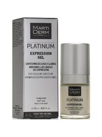 MartiDerm Платинум Экспрешн Гель-корректор для контура глаз и губ для всех типов кожи