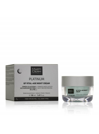 Крем Martiderm Platinum GF Vital-age Martiderm Night Cream 50мл