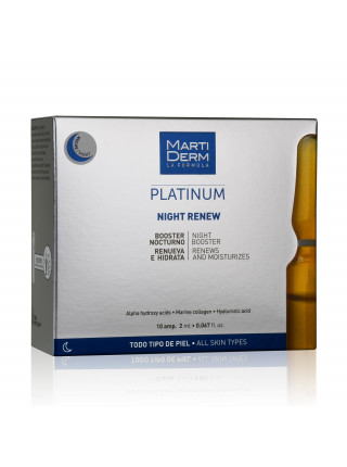 Ампулы MartiDerm Platinum Night Renew (10 ампул по 2 мл)