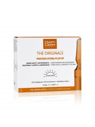 Ампулы MartiDerm The Originals Proteos Martiderm Hydra Plus SP (10 ампул по 2 мл)