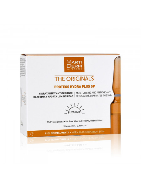Ампулы MartiDerm The Originals Proteos Martiderm Hydra Plus SP (10 ампул по 2 мл)